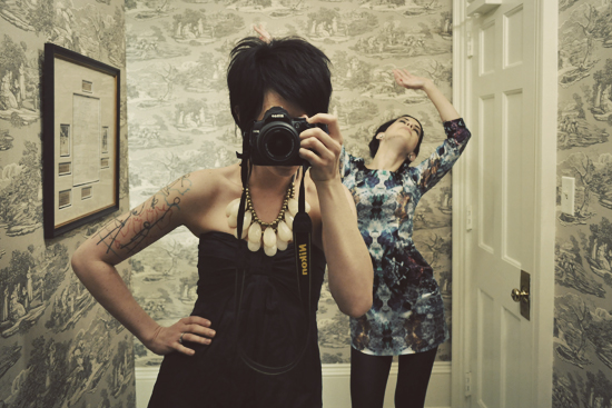 Daily Photos 56/365 - Super Colonial Bathroom Dance Party Photo Shoot by EileenJosephine
